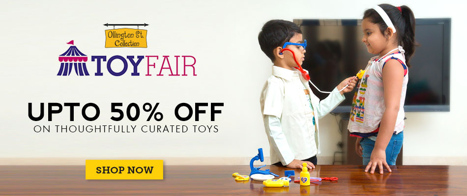 Toy Fair – Up to 50% Off on Thoughtfully Curated Toys – Steal Deals – Shop Online at Babyoye.com